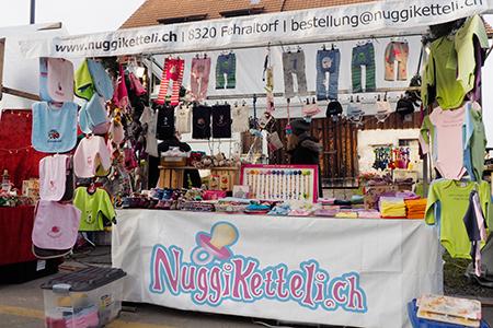 Marktstand von NuggiKetteli.ch