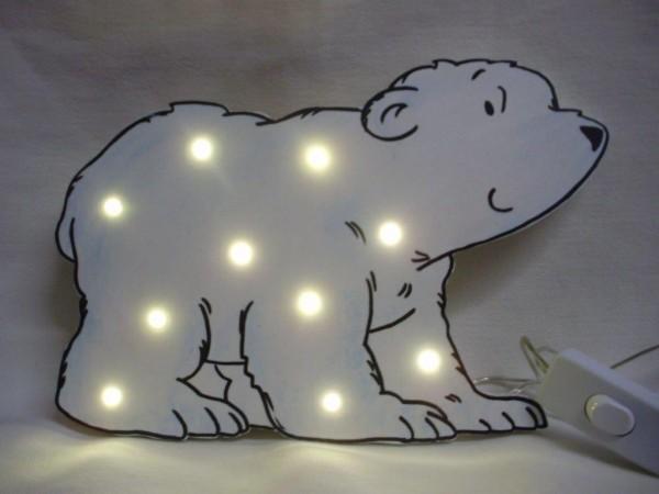 Schlummerlampe Eisbär