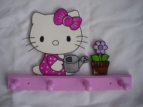 Garderobe Hello Kitty rosa