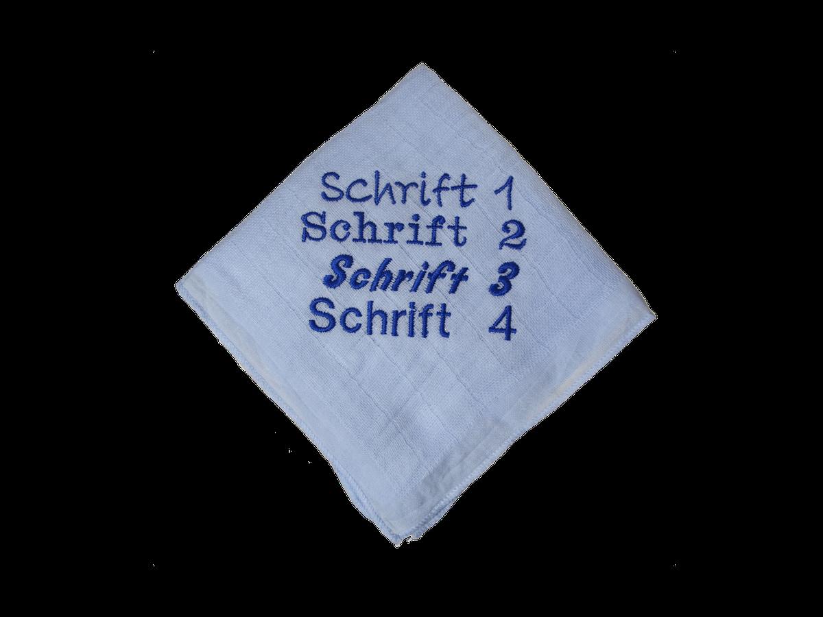 Nuscheli-Schriftart