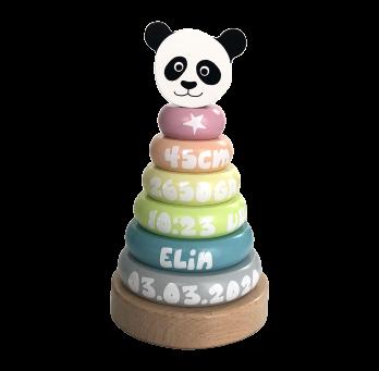 Stapelturm Pandabär
