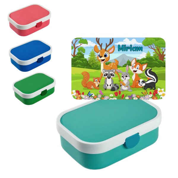 Mepal Campus Lunchbox Waldtiere