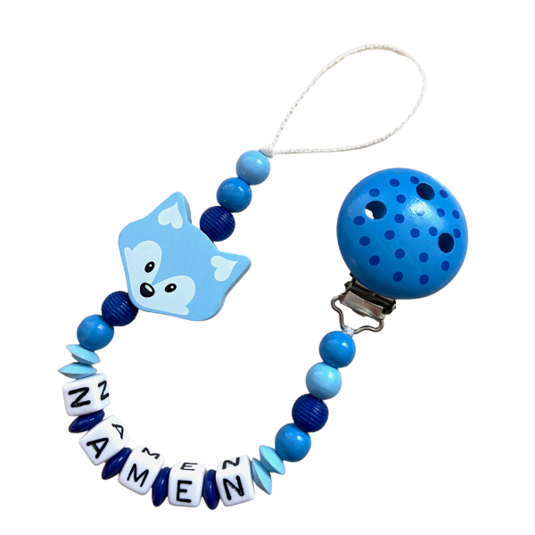 Nuggiketteli Fuchs blau