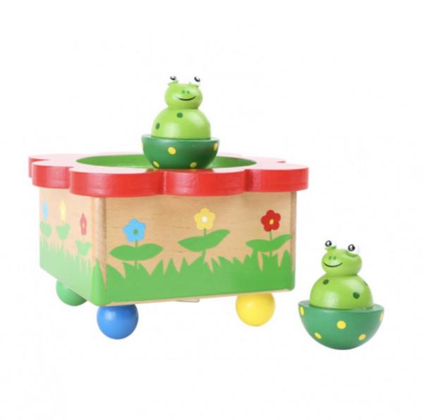 Musikdose Frosch