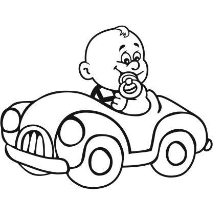 Autoaufkleber Baby 16