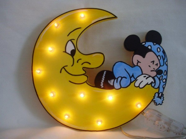 Schlummerlampe Mickey