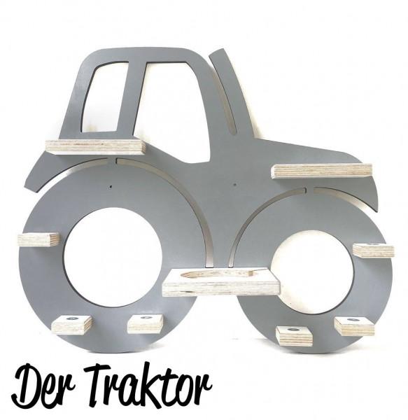 Traktor- Regal für die bunte Musikbox