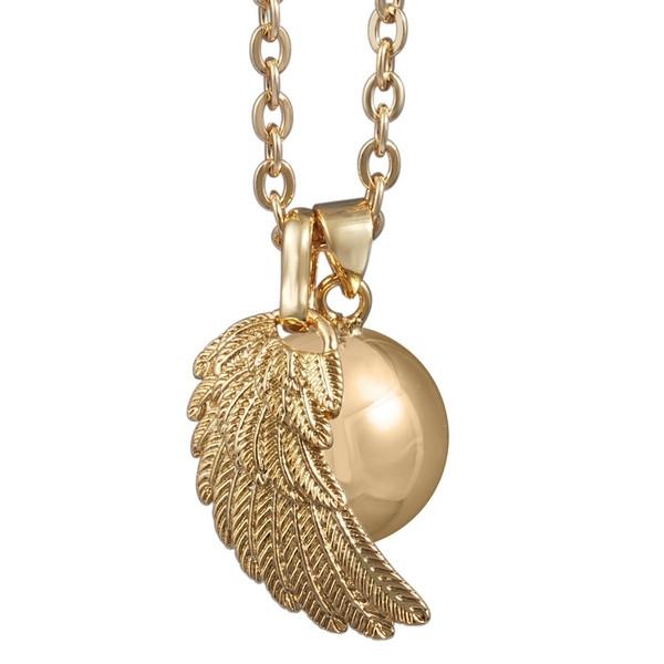 Bola Klangkugel Flügel gold