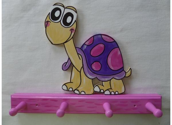Garderobe Schildkröttli violet/pink