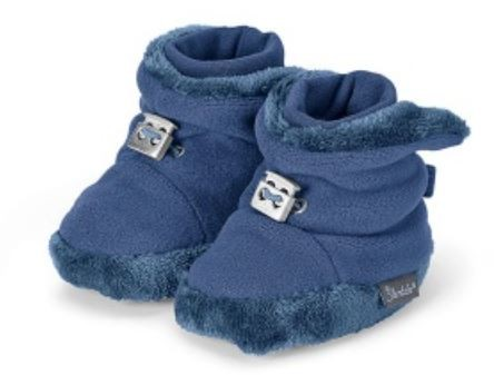 Sterntaler Winterschuhe Fleece blau
