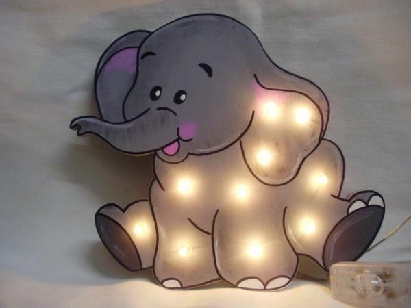 Schlummerlampe Elefant