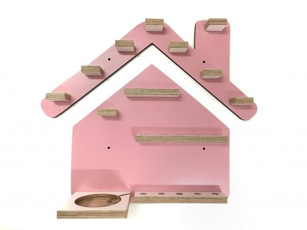 Haus- Regal für die bunte Musikbox