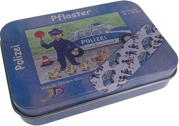 Pflasterdose Polizei