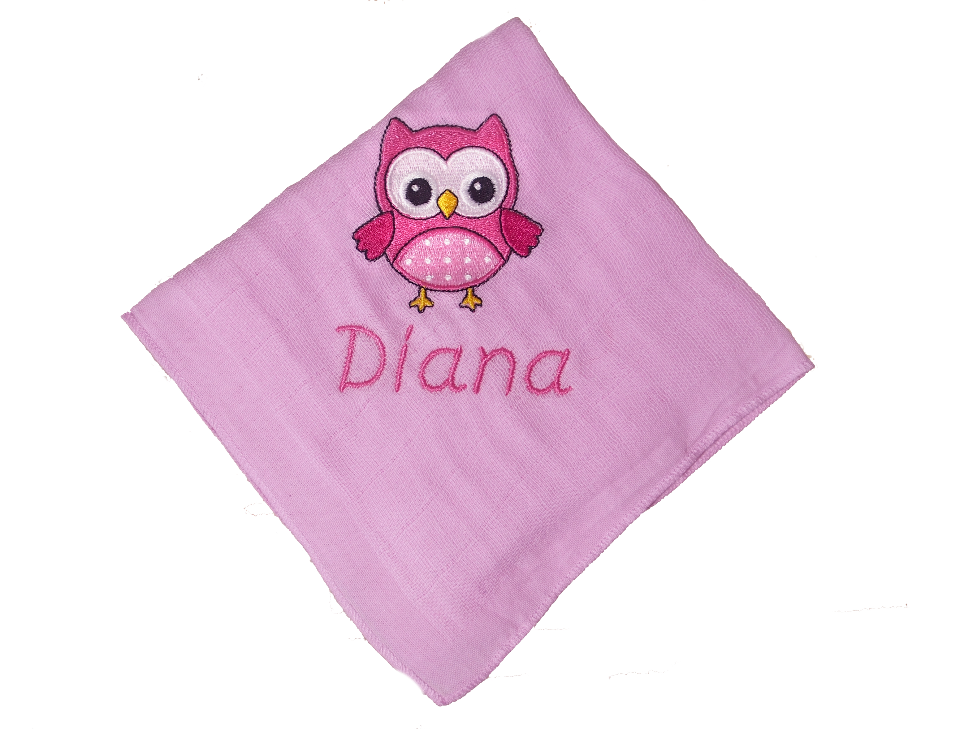mit motiv gestickt nuscheli personalisiertes nuggiketteli. Black Bedroom Furniture Sets. Home Design Ideas