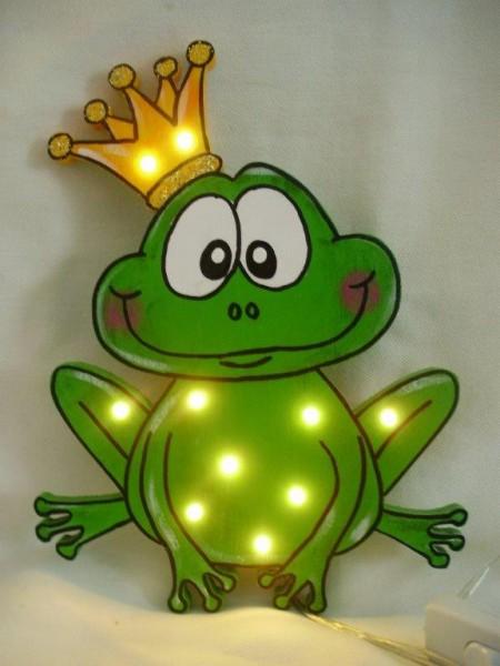Schlummerlampe Froschkönig