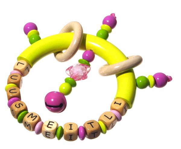 Greifling Modell Luusmeitli pink/lemon