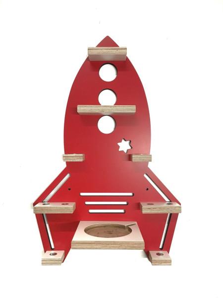 Rakete- Regal für die bunte Musikbox