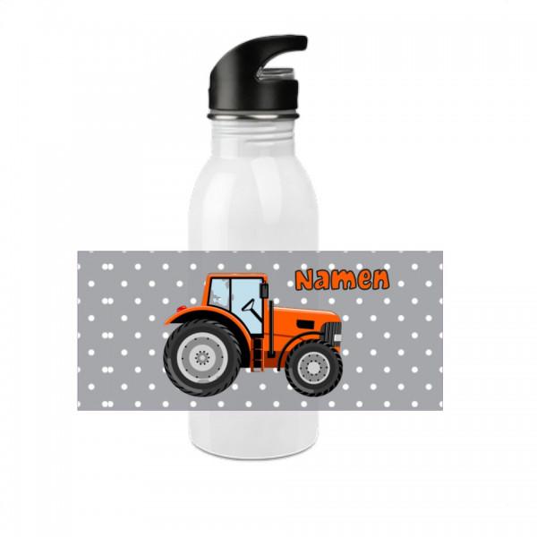 Trinkflasche Traktor