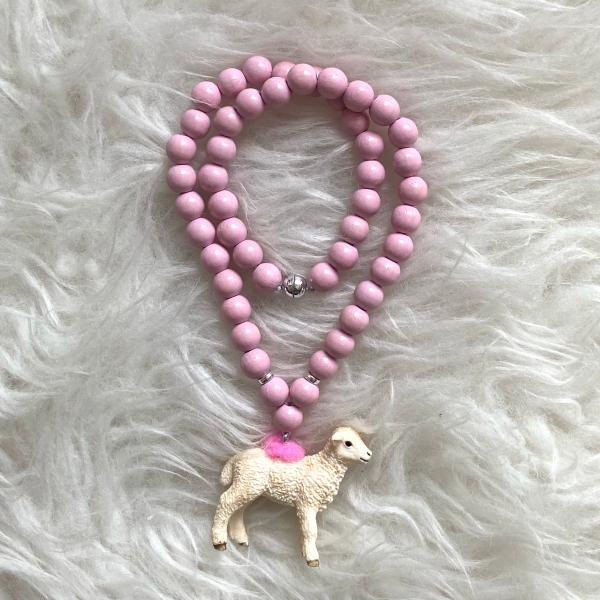 Halskette Schäfli rosa
