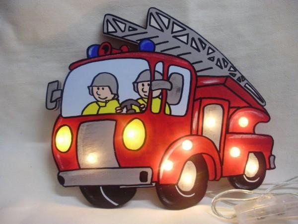 Schlummerlampe Feuerwehrauto