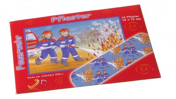 Pflasterbriefchen Feuerwehr