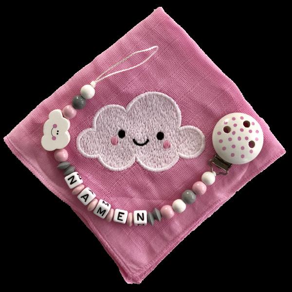 Geschenkset Wolke rosa