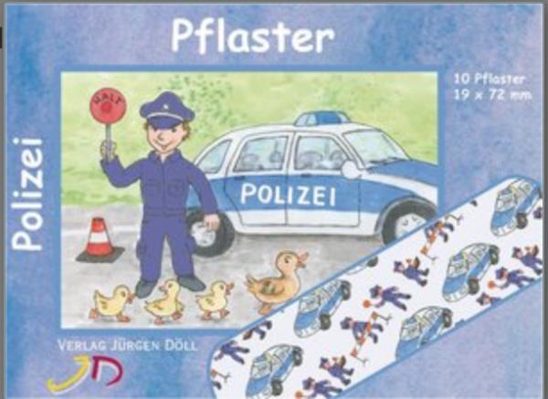Pflasterbriefchen Polizei