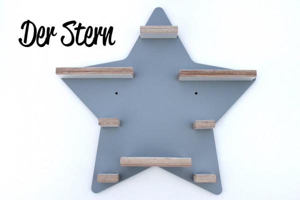 Stern- Regal für die bunte Musikbox