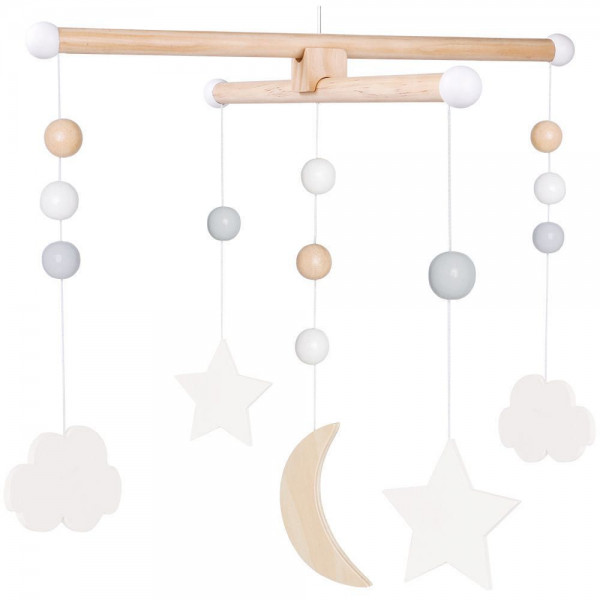 Mobile Mond und Sterne