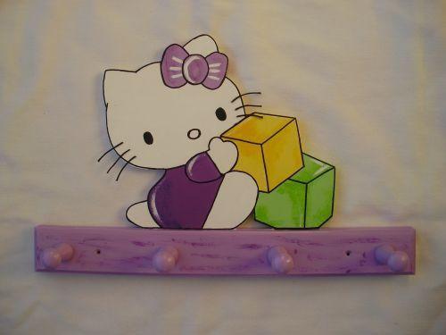 Garderobe Hello Kitty lila