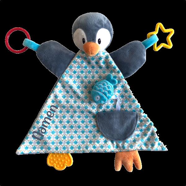 Pinguin Schmusetuch
