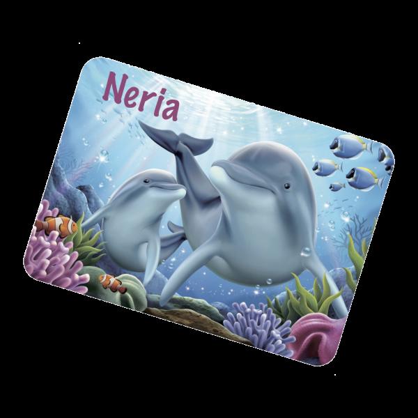Tischset Delfin