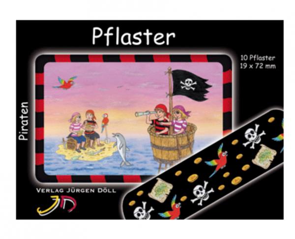 Pflasterbriefchen Piraten