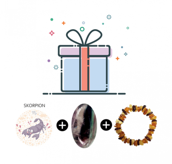 Geschenkset Astro Skorpion