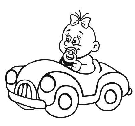 Autoaufkleber Baby 14