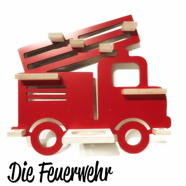 Feuerwehr- Regal für die bunte Musikbox