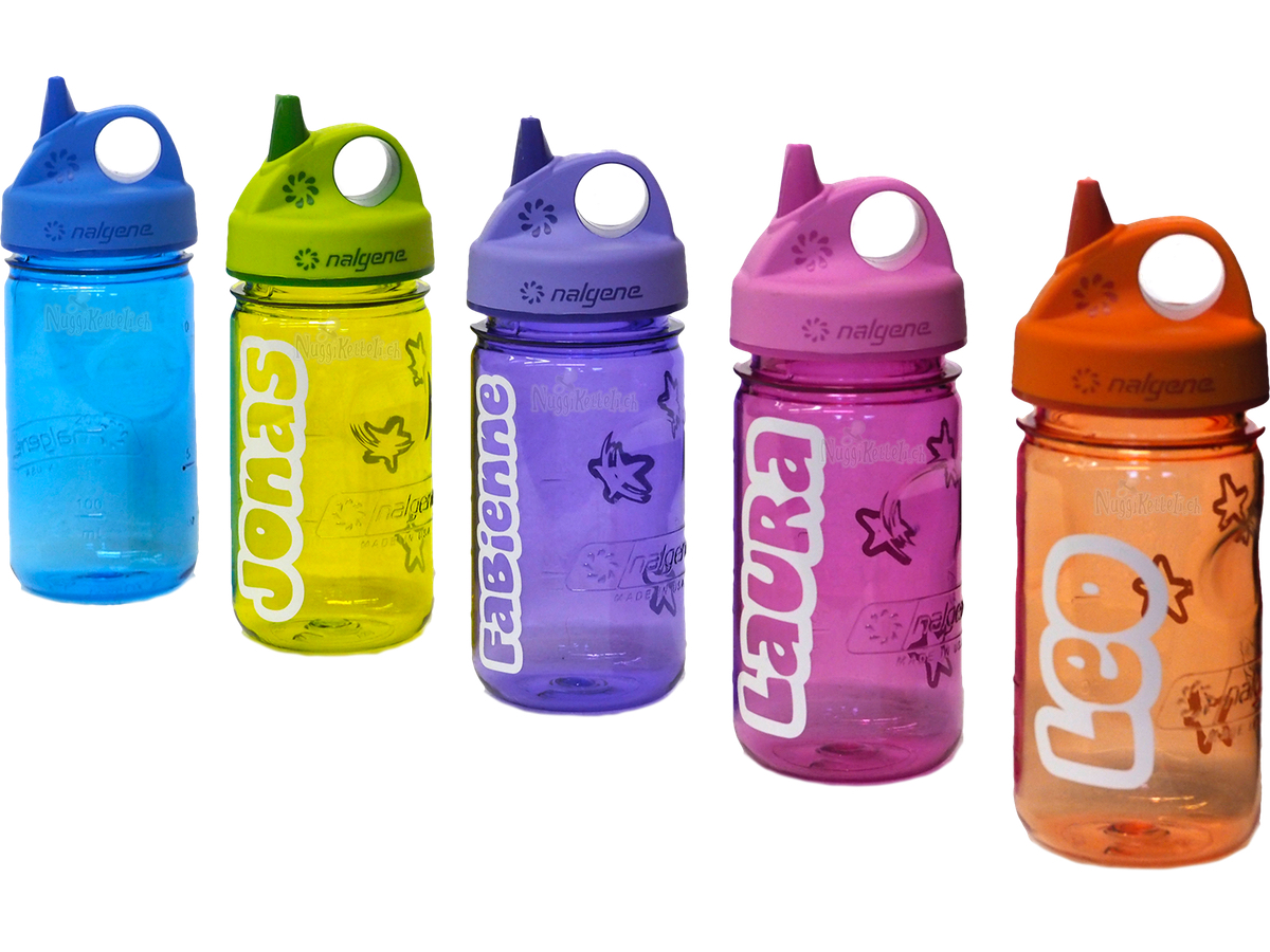 trinkflaschen personalisiertes nuggiketteli. Black Bedroom Furniture Sets. Home Design Ideas