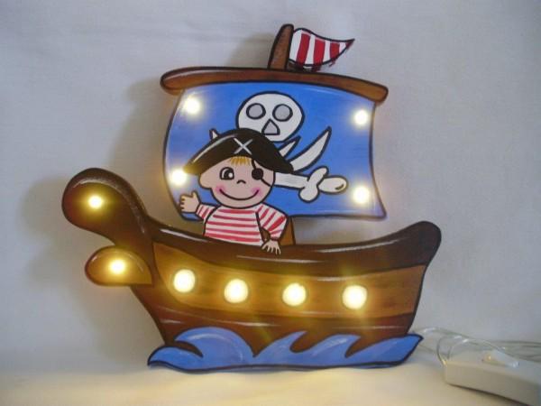Schlummerlampe Piratenschiff