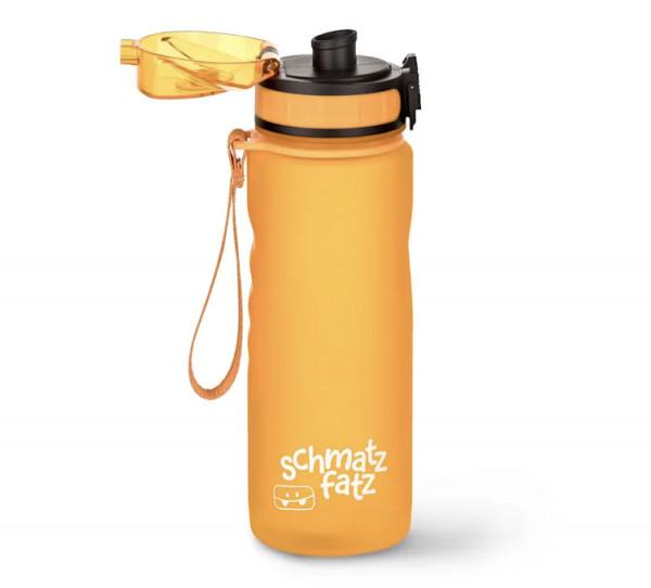 Schmatzfatz Trinkflasche gross gelb